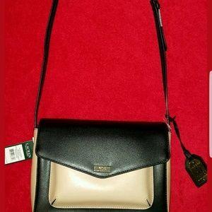 NWT Ralph Lauren Bramley Messenger Bag Crossbody